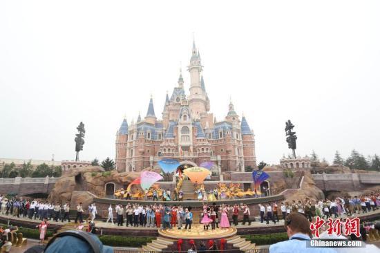 资料图:上海迪士尼。张亨伟 摄