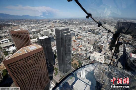 资料图:美国洛杉矶。