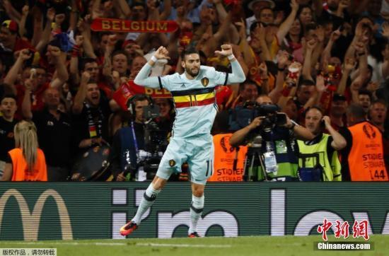 资料图:本赛季大连一方从西甲马德里竞技引进的比利时国脚卡拉斯科,以4000万欧的超高身价,刷新的中超外援身价记录。