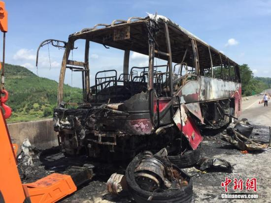 湖南郴州宜章县特大道路交通事故 驾驶员和有关企业责任人等7人被控制