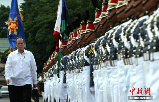 资料图:菲律宾前总统阿基诺。<a target='_blank' href='http://www.chinanews.com/'>中新社</a>记者 malacanang 摄