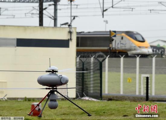 资料图:军用无人机。