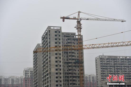 北京郭公庄一期正在建设中的公租房项目。 <a target='_blank' href='http://www.chinanews.com/' >中新网</a>记者 金硕 摄