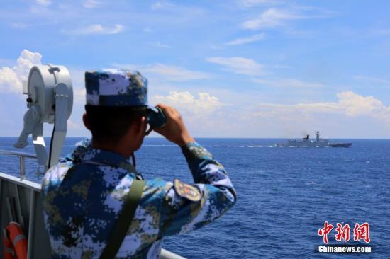 交通部:中国在南海建设五座大型灯塔