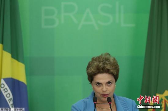 2016年4月11日晚,在距离巴西举办里约奥运会开幕不到四个月的时候,巴西国会众议院特别委员会举行表决,以38票赞成、27票反对,通过支持弹劾总统迪尔玛?罗塞夫的报告。当地时间4月18日,巴西总统罗塞夫召开新闻发布会,称其不满国会的投票会议,并且要继续战斗。 2016年5月12日,在经过长达21小时的投票前发言后,巴西参议院5月12日凌晨投票通过了针对总统罗塞夫的弹劾案,罗塞夫将被强制离职最长达180天,副总统特梅尔将出任代总统。