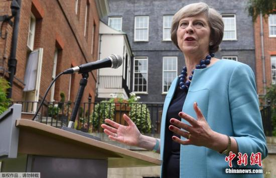 英国首相特蕾莎・梅。