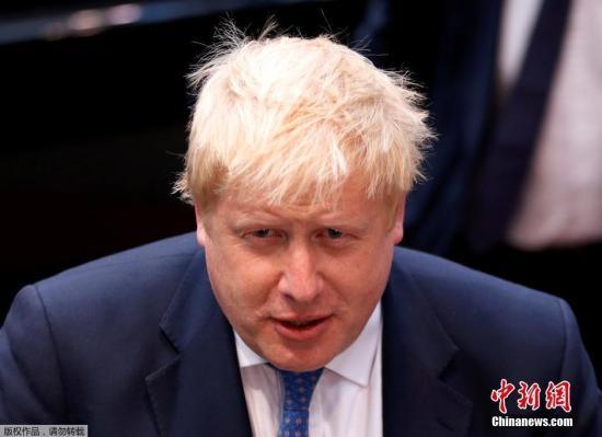 当地时间2016年7月18日,比利时布鲁塞尔,英国新任外交部长鲍里斯出席欧盟外长会议,这是其担任外长以来首次出访。