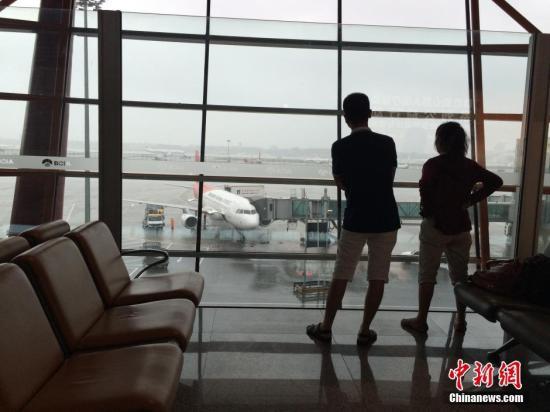 首都机场 资料图。中新社记者 刘关关 摄