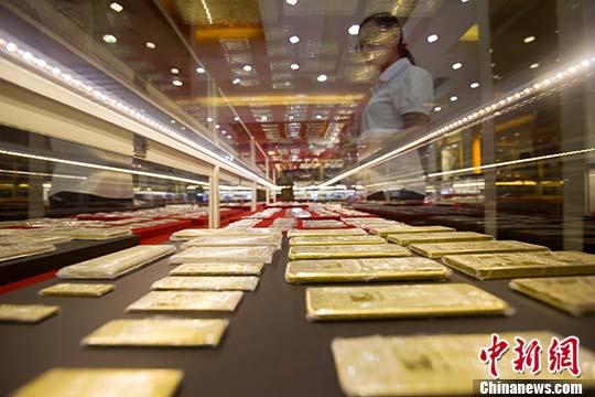 中国黄金产量连续13年居世界第一