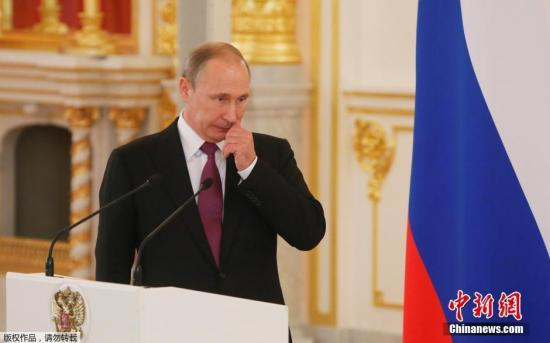 材料图:俄罗斯总统普京。