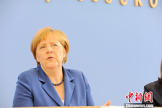 资料图:德国总理默克尔。 <a target='_blank' href='http://www.chinanews.com/'>中新社</a>记者 彭大伟 摄