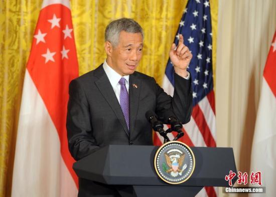 资料图:新加坡总理李显龙。 中新社记者 张蔚然 摄