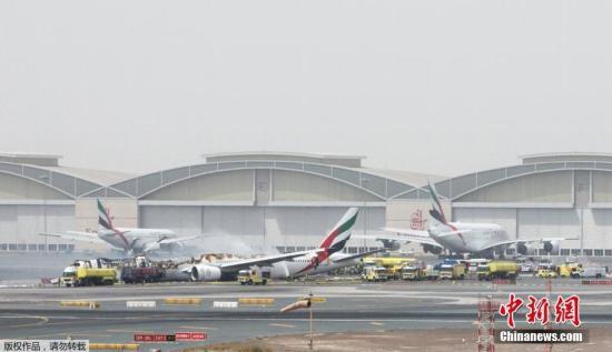 资料图:迪拜国际机场。
