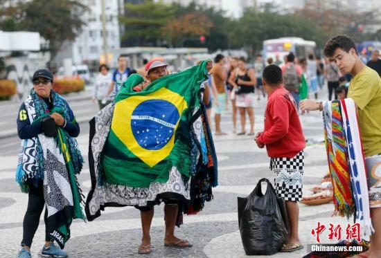资料图:奥运前夕的巴西街头。<a target='_blank' href='http://www.chinanews.com/' >中新网</a>记者 杜洋 摄