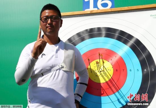 当地时间8月5日,巴西里约,韩国选手金优镇在里约奥运会射箭比赛中打破5分pk10反曲弓个人世界纪录,这也是里约奥运诞生的首个世界纪录。