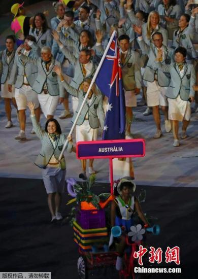 澳大利亚奥运代表团女性过半 战绩优秀