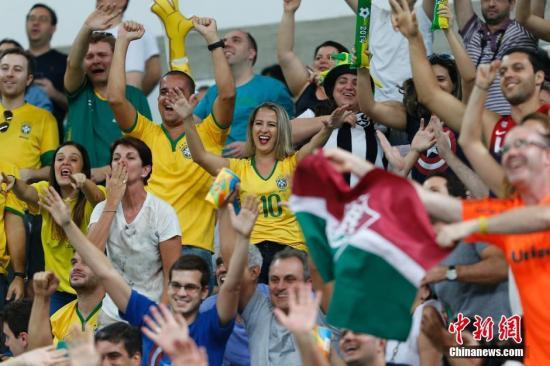 资料图:奥运会为里约带来了来自世界各地的看客。