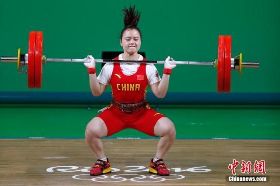 资料图:黎雅君在比赛中。<a target='_blank' href='http://www.chinanews.com/' >中新网</a>记者 富田 摄