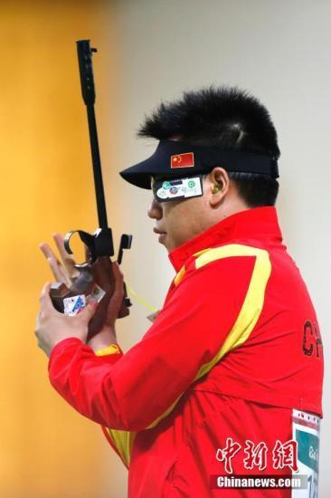 资料图:庞伟在比赛中。 <a target='_blank' href='http://www.chinanews.com/' >中新网</a>记者 盛佳鹏 摄