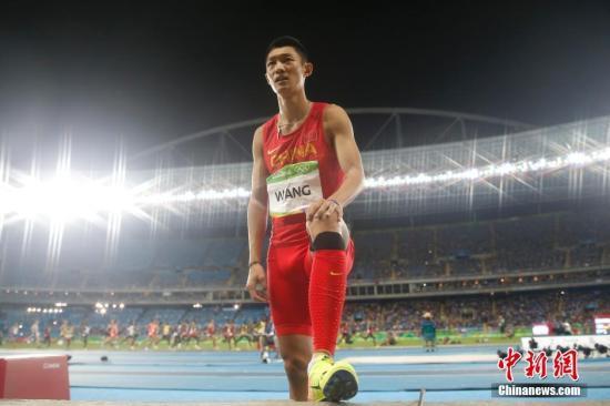 资料图:中国选手王嘉男。新闻网记者 盛佳鹏 摄