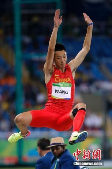 伦敦田径世锦赛中国三将战男子跳远 两人惊险过关