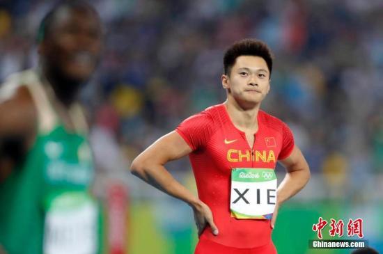 谢震业本赛季在100米、200米都有出色发挥。(资料图:图为谢震业在里约奥运百米短跑半决赛中。中新网记者 盛佳鹏 摄)
