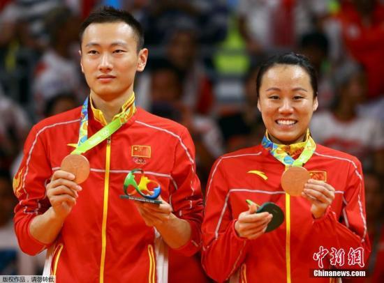 张楠/赵云蕾取得铜牌。