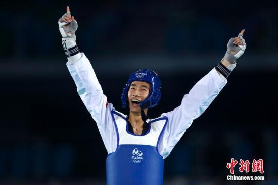 创造历史!赵帅夺中国跆拳道男子项目奥运首金