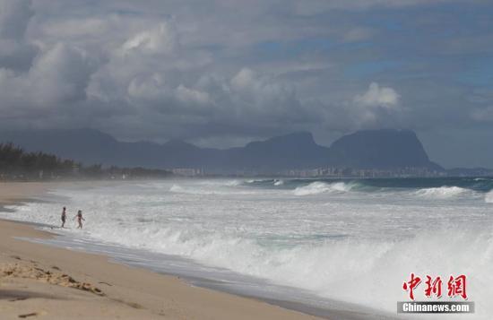 资料图:海滩。记者 盛佳鹏 摄