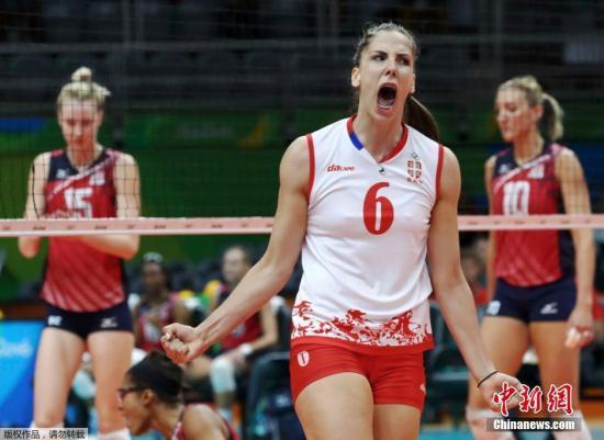 当地时间8月18日,里约奥运女排半决赛,塞尔维亚女排3-2战胜夺冠热门美国女排,率先晋级决赛。