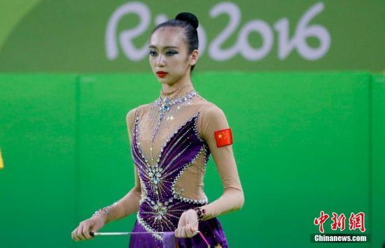 图为中国选手尚蓉在比赛中。<a target='_blank' href='http://www.chinanews.com/' >中新网</a>记者 杜洋 摄