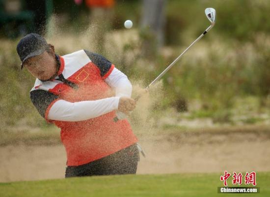 里约奥运会女子高尔夫球赛事结束了