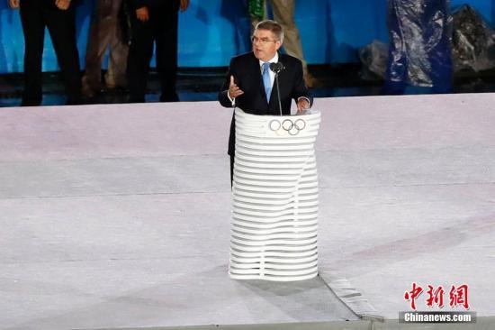 资料图:国际奥委会主席巴赫。<a target='_blank' href='http://mojg.cn/' >中新网</a>记者 富田 摄