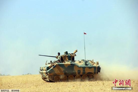 资料图:土耳其军队。