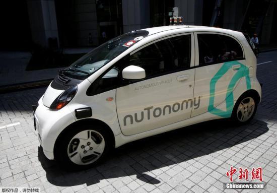 资料图:2016年8月25日,新加坡,新加坡对无人驾驶出租车进行公开试验,这在全世界尚属首次。