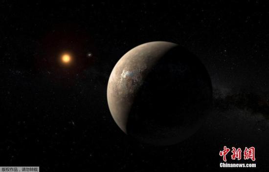 资料图:宇宙中的星球。