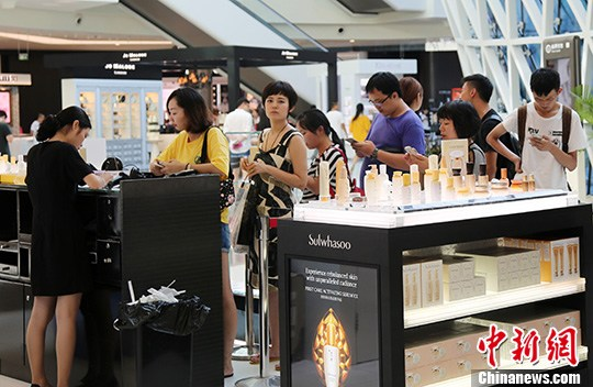 Hainan duty-free shops see record sales during Spring Festival