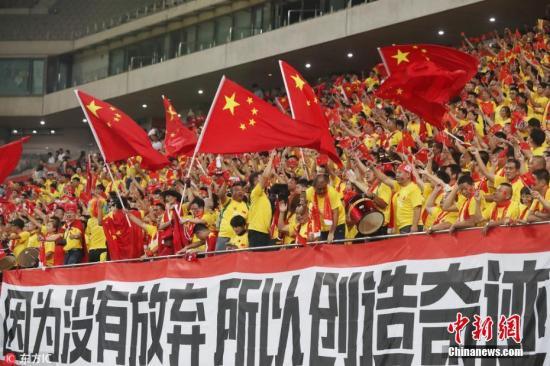 资料图:世预赛12强赛首战国足客场2-3惜败韩国。 图片来源:东方IC 版权作品 请勿转载