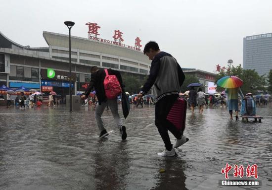 西南至江汉江南一带遭遇强降雨直接经济损失1.7亿
