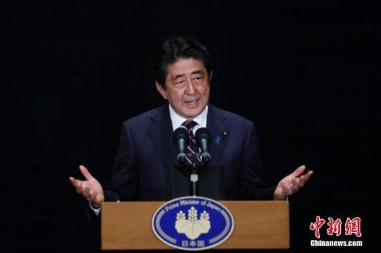 日本首相安倍晋三。