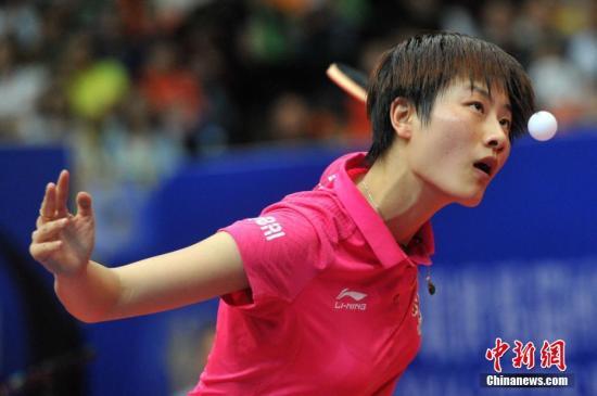 丁宁夺得第三个世乒赛女单冠军比肩邓亚萍、王楠