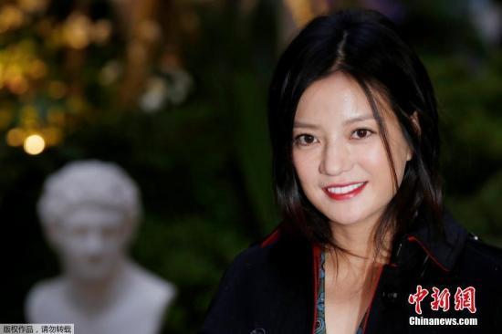 中国影星赵薇 资料图。