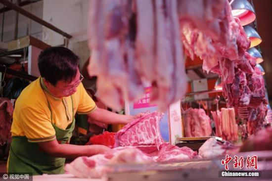 资料图:猪肉倌。 图片来源:视觉中国