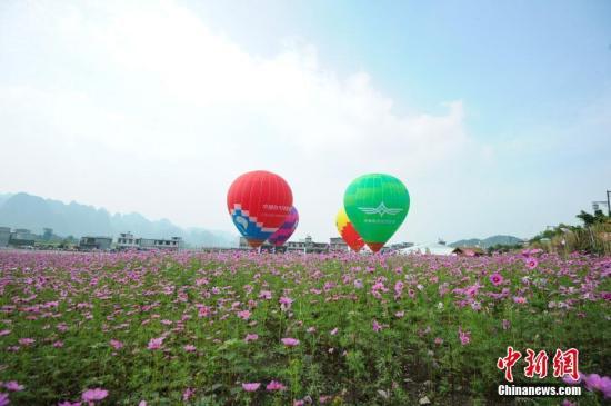 资料图:中国首家航空飞行营地落户贵州兴义。 记者 贺俊怡 摄