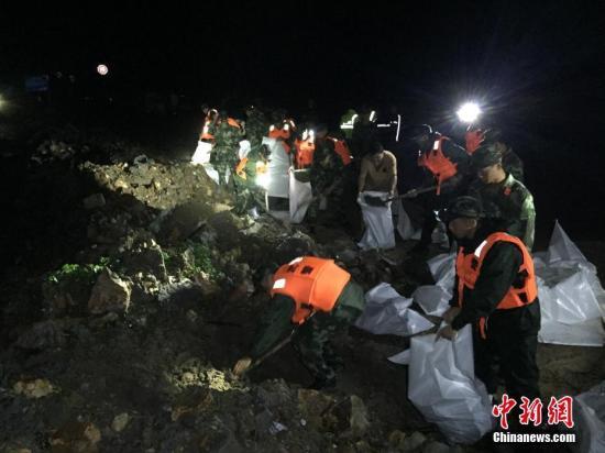 浙江民政安置遂昌受灾群众118人 拨救灾物资保障生活
