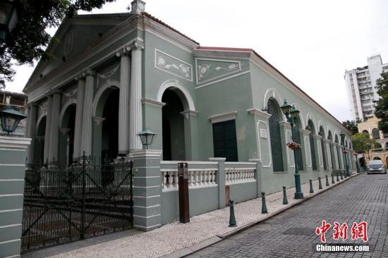 资料图为超过150年历史的岗顶剧院。<a target='_blank' href='http://www.chinanews.com/'>中新社</a>记者 陈小愿 摄