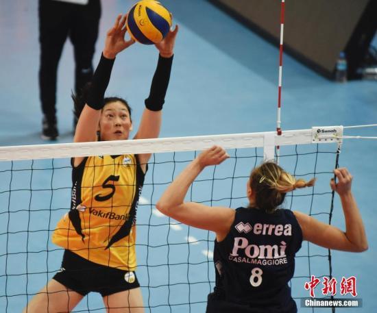 朱婷土超赛季首秀得8分 瓦基弗银行横扫贝西克塔