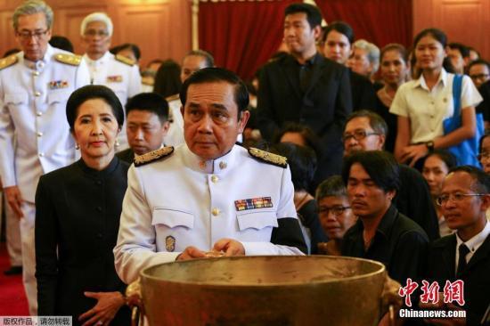 资料图:泰国总理巴育。
