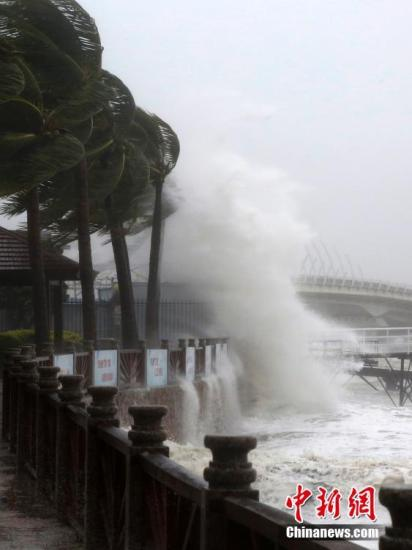 台风莎莉嘉致琼154万人受灾 国家Ⅳ级救灾应急响应启动
