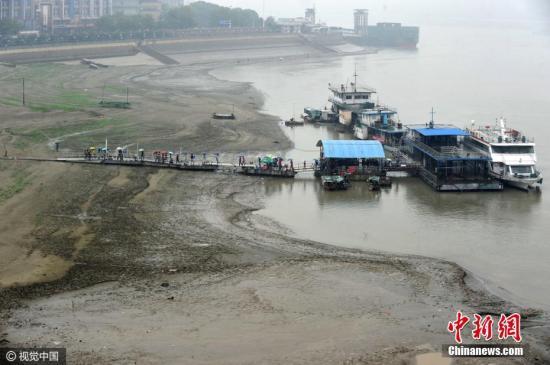 资料图 汉江武汉段。 图片来源:视觉中国